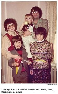 stephen king and family