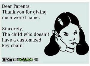 wrong names