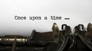 once upon a time writing