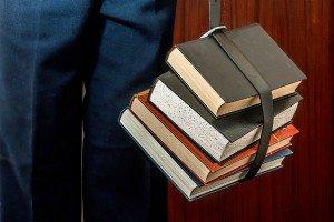 hanged books