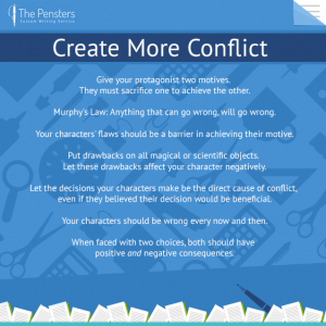 create more conflict